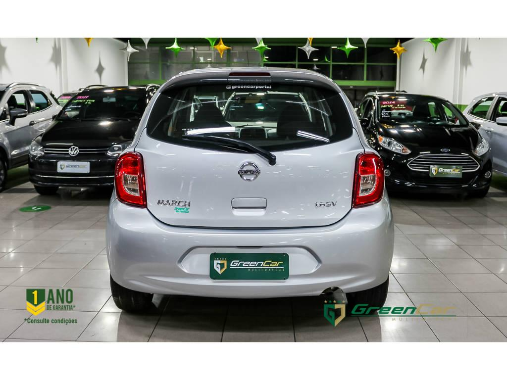 Nissan March 1.6 SV 2017